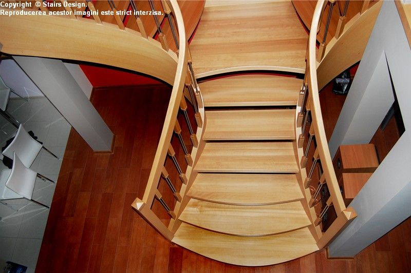 Scara din lemn - SD 26 STAIRS DESIGN - Poza 1