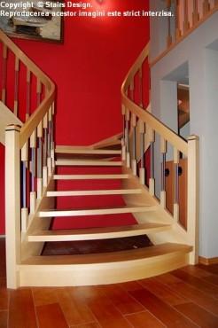 Scara din lemn - SD 26 STAIRS DESIGN - Poza 3