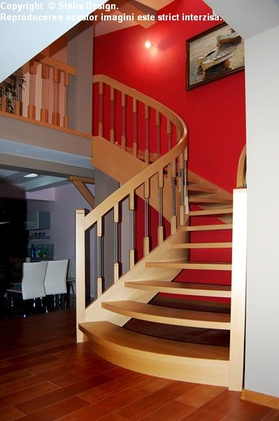 Scara din lemn - SD 26 STAIRS DESIGN - Poza 4