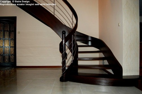 Scara din lemn - SD 27 STAIRS DESIGN - Poza 2