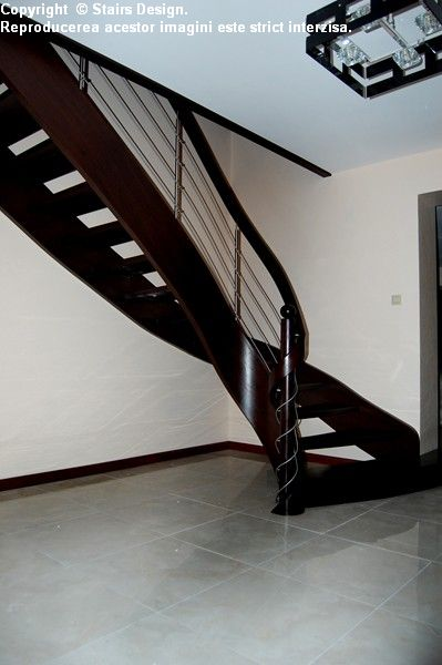 Scara din lemn - SD 27 STAIRS DESIGN - Poza 4