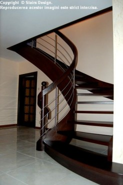 Scara din lemn - SD 27 STAIRS DESIGN - Poza 3