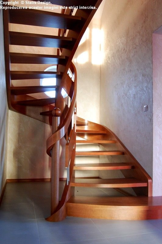 Scara din lemn - SD 29 STAIRS DESIGN - Poza 3