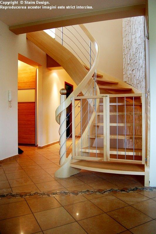 Scara din lemn - SD 31 STAIRS DESIGN - Poza 1