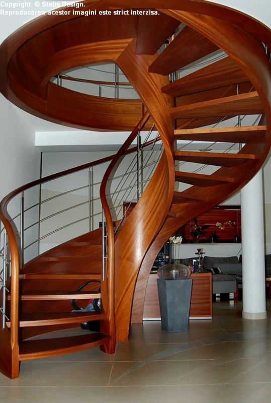 Scara din lemn - SD 33 STAIRS DESIGN - Poza 3