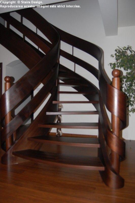 Scara din lemn - SD 35 STAIRS DESIGN - Poza 3