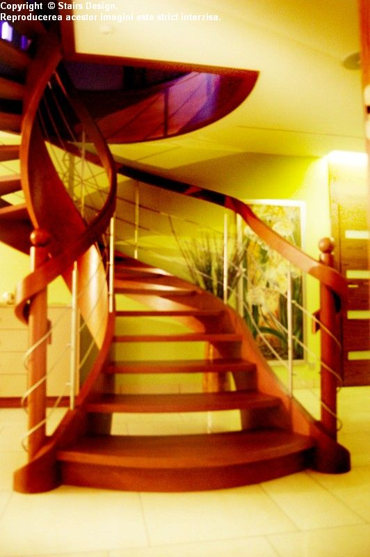 Scara din lemn - SD 36 STAIRS DESIGN - Poza 2