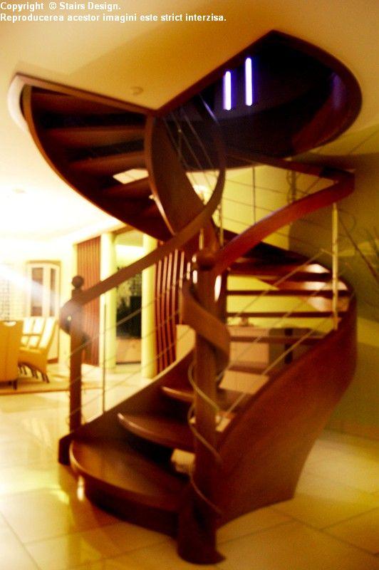Scara din lemn - SD 36 STAIRS DESIGN - Poza 3