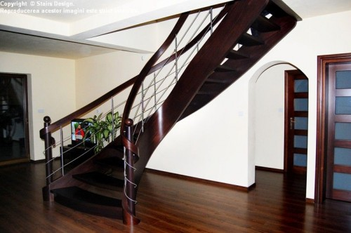 Scara din lemn - SD 37 STAIRS DESIGN - Poza 1