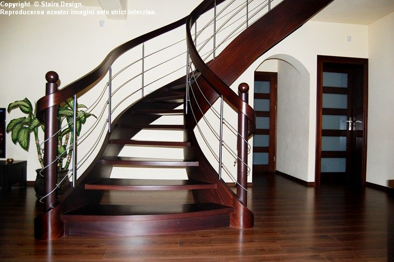 Scara din lemn - SD 37 STAIRS DESIGN - Poza 2