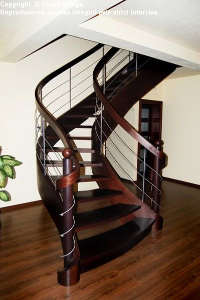 Scara din lemn - SD 37 STAIRS DESIGN - Poza 3