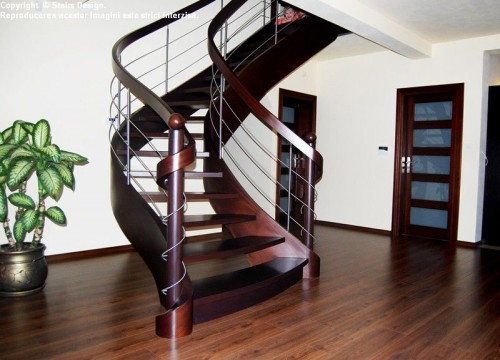 Scara din lemn - SD 37 STAIRS DESIGN - Poza 4