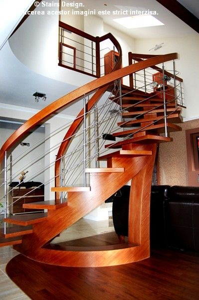 Scara din lemn - SD 38 STAIRS DESIGN - Poza 1
