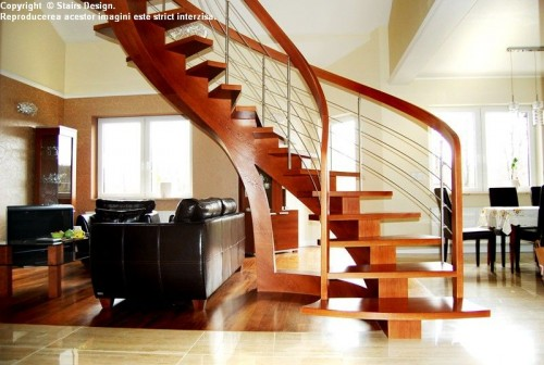 Scara din lemn - SD 38 STAIRS DESIGN - Poza 3