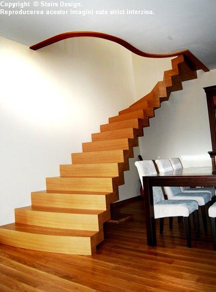 Scara din lemn - SD 40 STAIRS DESIGN - Poza 1