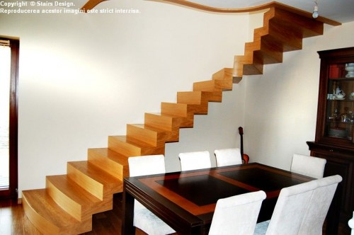 Scara din lemn - SD 40 STAIRS DESIGN - Poza 2