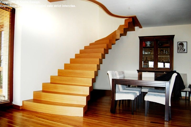 Scara din lemn - SD 40 STAIRS DESIGN - Poza 3