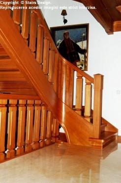 Scara din lemn - SD 41 STAIRS DESIGN - Poza 1