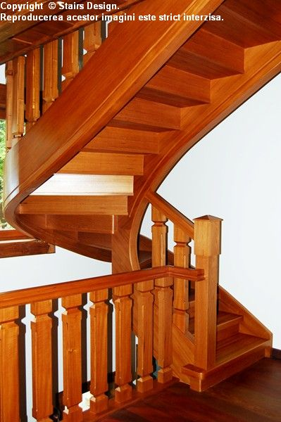 Scara din lemn - SD 41 STAIRS DESIGN - Poza 2