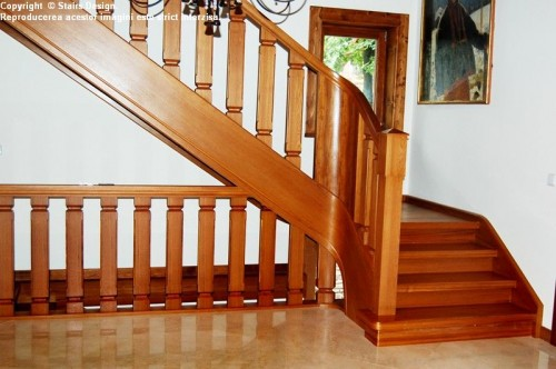 Scara din lemn - SD 41 STAIRS DESIGN - Poza 3