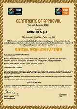 Certificat de aprobare - Federatia Internationala de Baschet MONDO