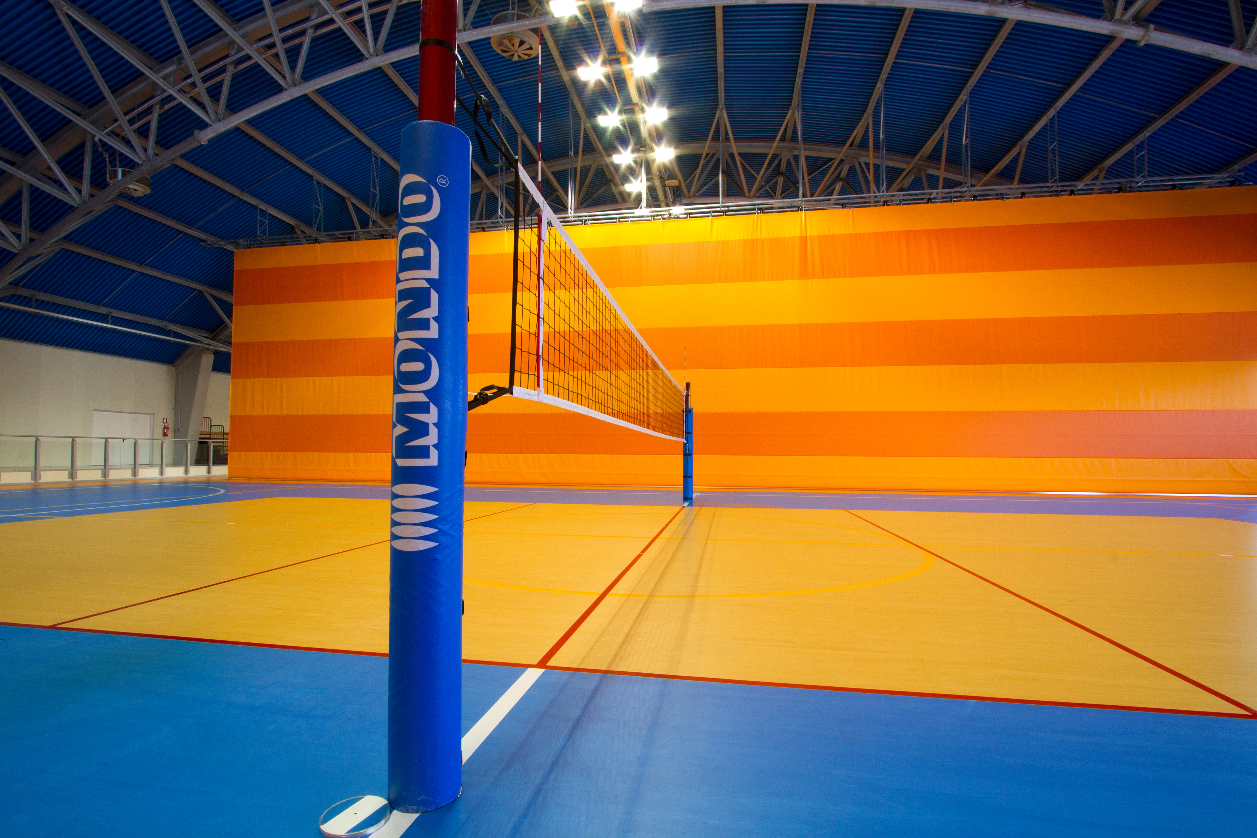 Covor PVC pentru sali de sport MONDO - Poza 2