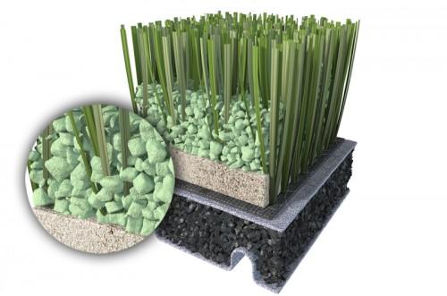 Granule termoplastice pentru umplerea gazonului sintetic - ECOFILL MONDO - Poza 5