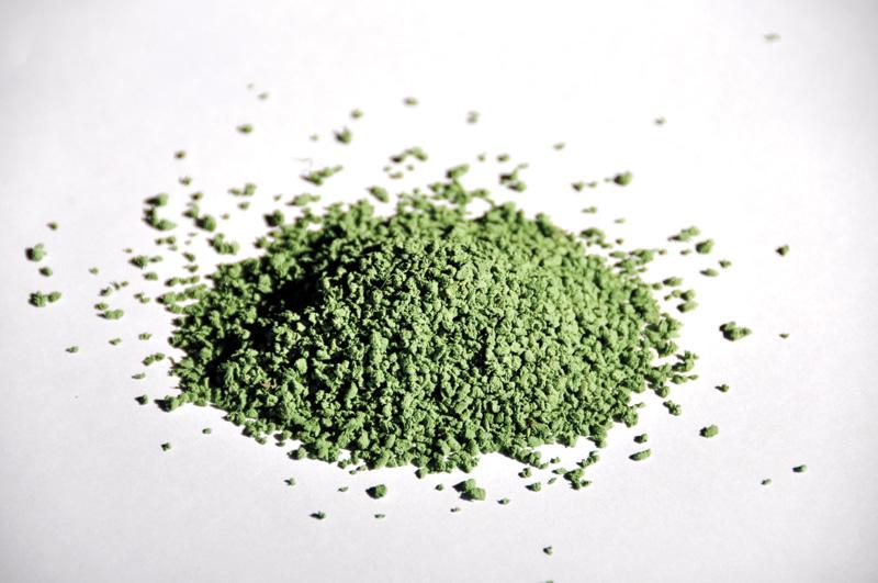 Granule termoplastice pentru umplerea gazonului sintetic - ECOFILL Verde MONDO - Poza 6