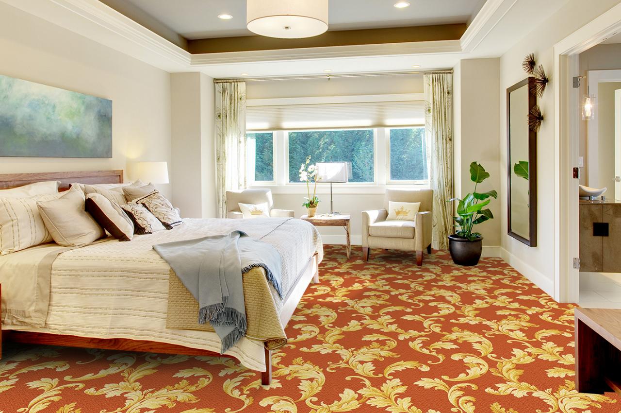 Mocheta personalizata - HOTEL ROOM - Design 47 - Decor 38 TAPIBEL - Poza 2