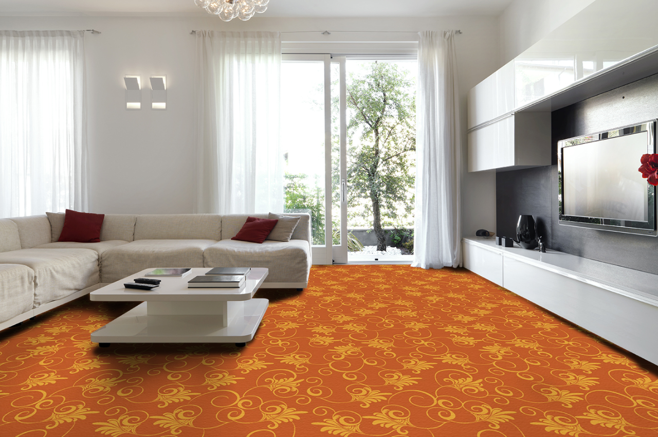 Mocheta personalizata - LIVING ROOM - Design 50 - Decor 38 TAPIBEL - Poza 3