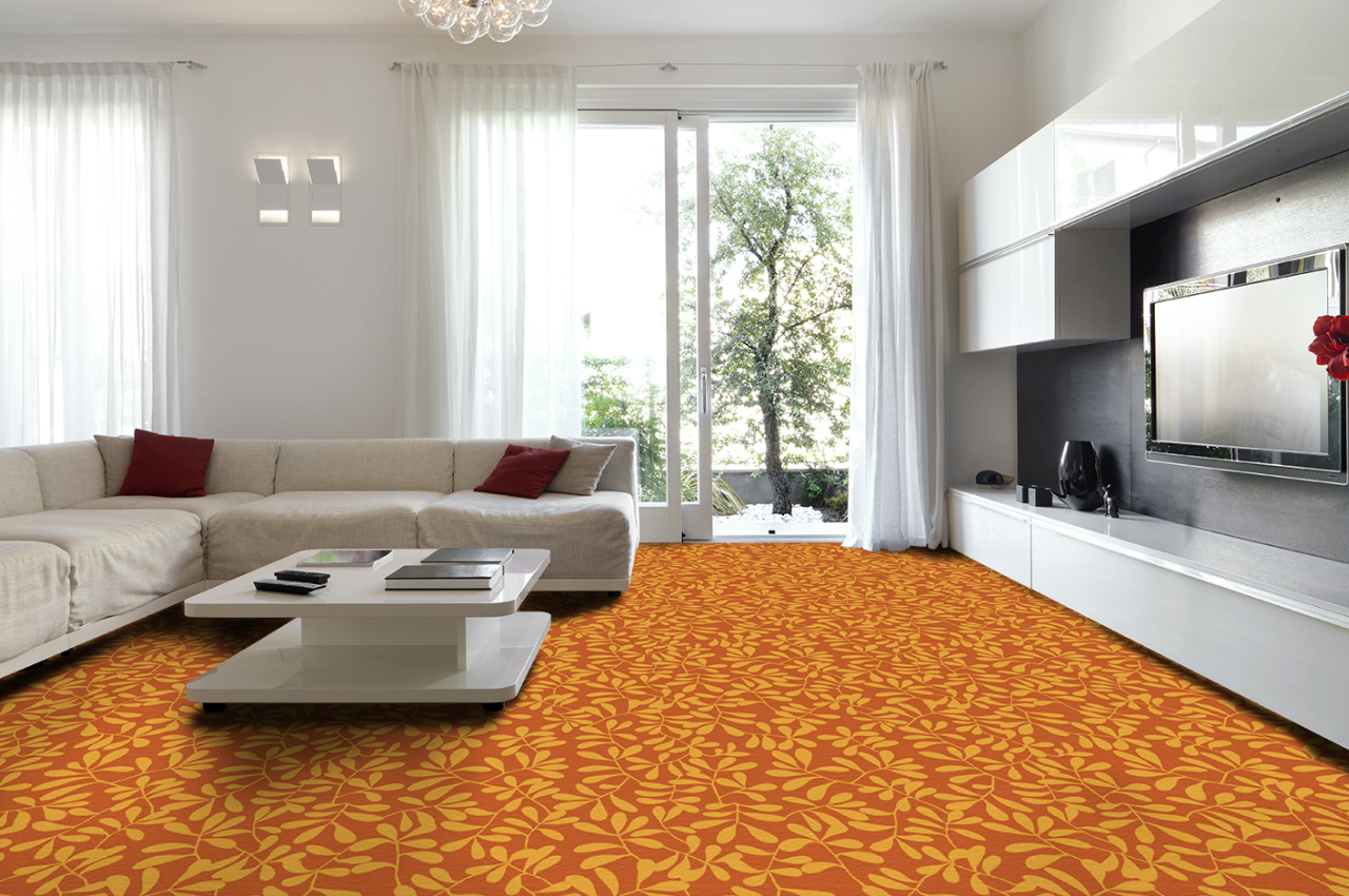 Mocheta personalizata - LIVING ROOM - Design 52 - Decor 38 TAPIBEL - Poza 3