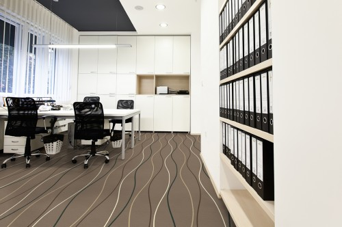 Mocheta personalizata - OFFICE - Design 37 - Decor 20 TAPIBEL - Poza 2