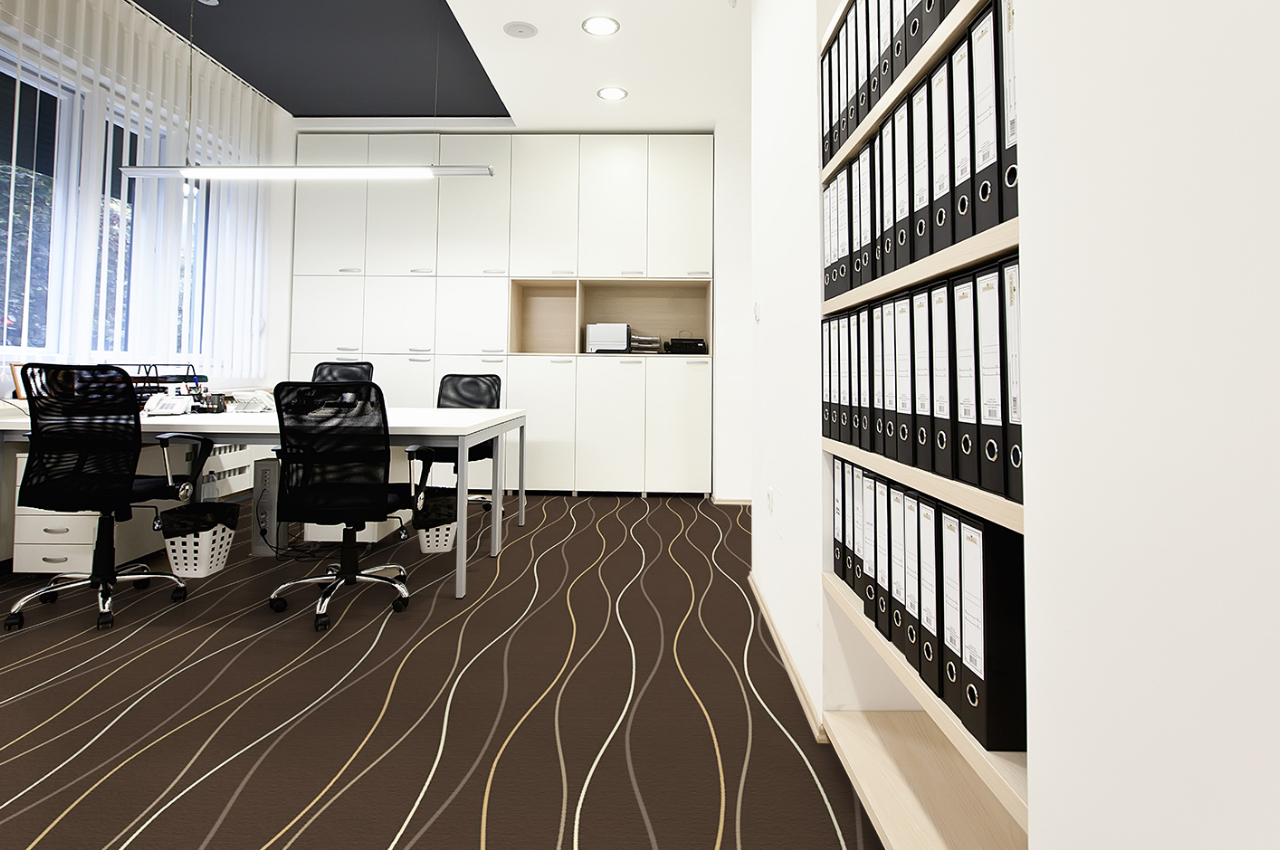 Mocheta personalizata - OFFICE - Design 37 - Decor 30 TAPIBEL - Poza 3