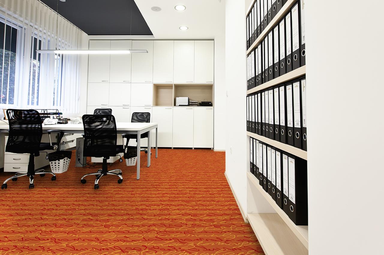 Mocheta personalizata - OFFICE - Design 55 - Decor 38 TAPIBEL - Poza 3