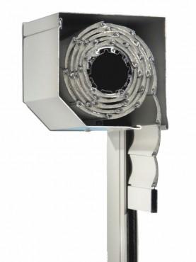 Rulouri aplicate din aluminiu cu caseta tesita la 45 de grade KONDOR - Poza 2