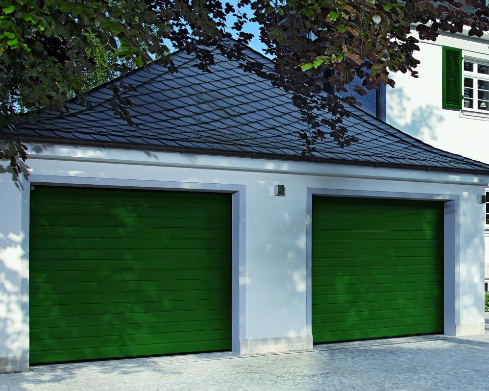 Usi de garaj sectionale rezidentiale KONDOR - Poza 1