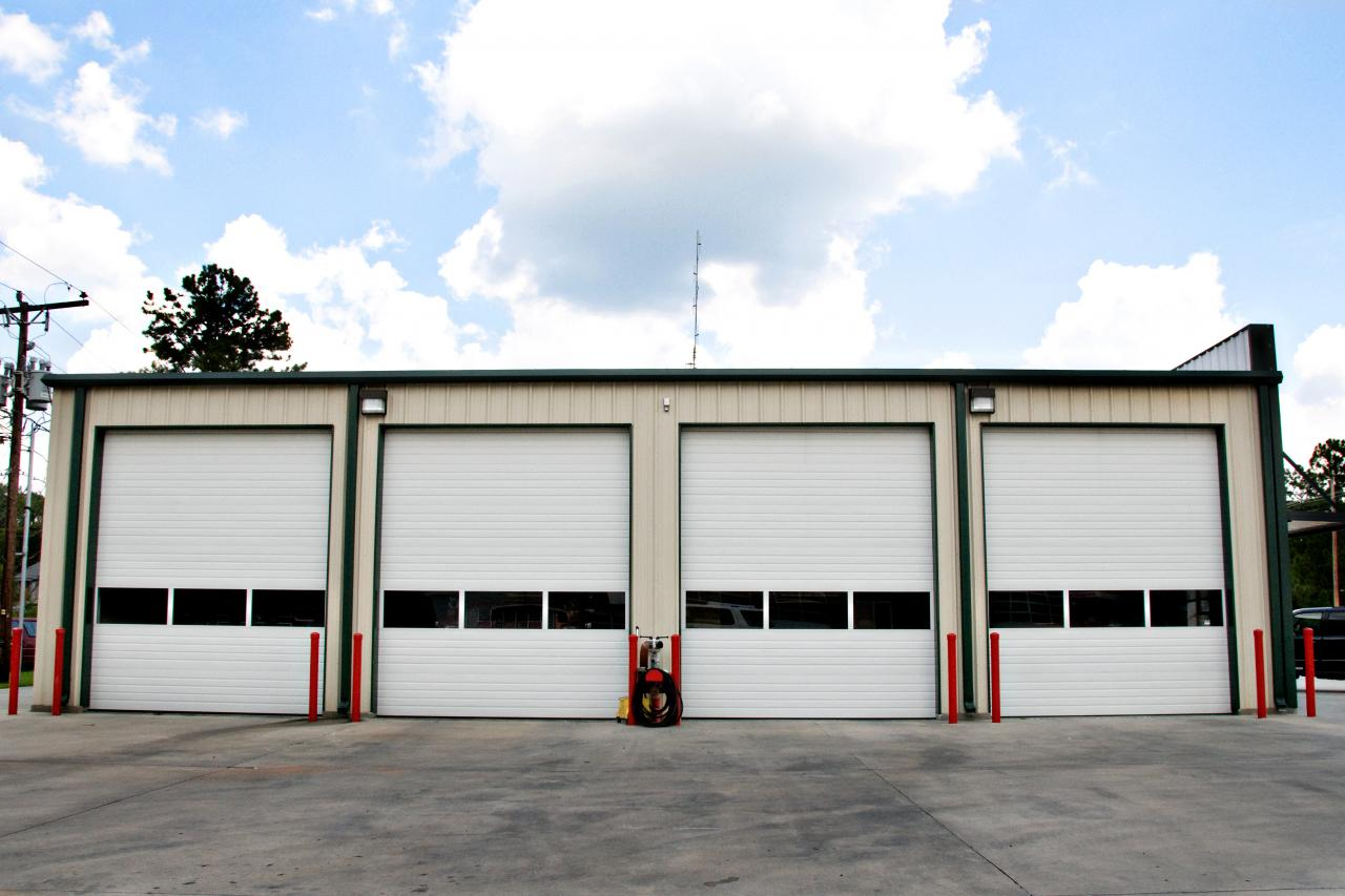 Usi de garaj sectionale industriale KONDOR - Poza 2