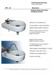 Fantana pentru baut apa montaj pe perete ADCRIST - A1