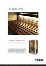Sauna cu sectiuni din sticla - i1309 TYLO