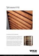 Sauna cu sectiuni din sticla - i1713 TYLO