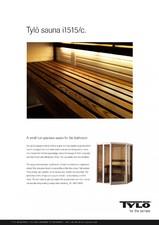 Sauna cu sectiuni din sticla - i1515 TYLO