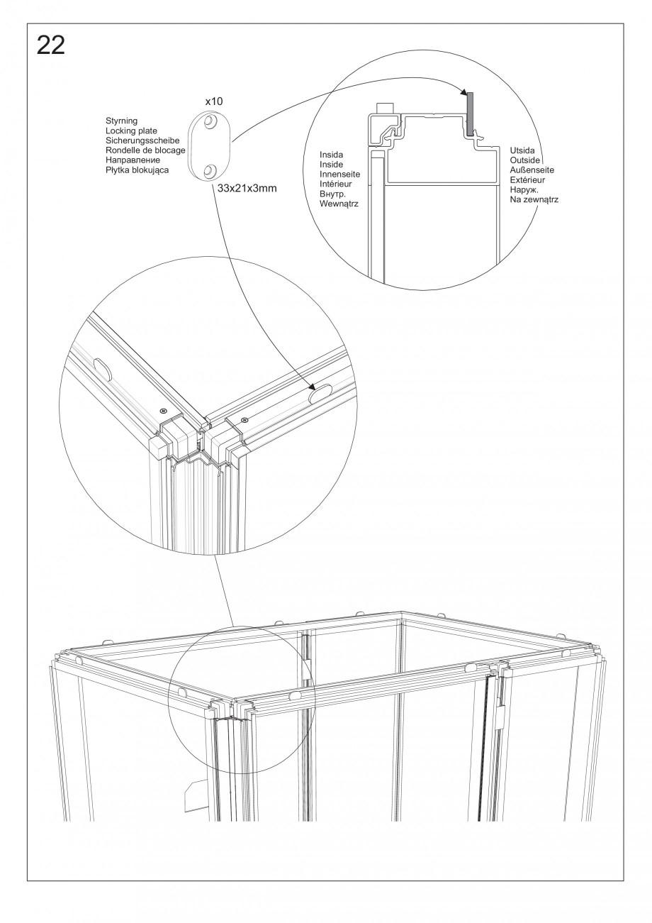 instructiuni montaj utilizare dus cu aburi impression i130 tylo saune traditionale de lux. Black Bedroom Furniture Sets. Home Design Ideas
