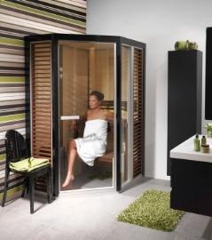 Prezentare produs Sauna traditionala cu inserti de sticla TYLO - Poza 2
