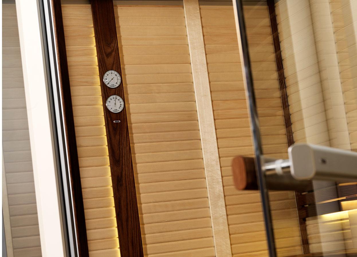 Sauna traditionala cu inserti de sticla TYLO - Poza 3