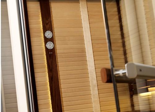 Prezentare produs Sauna traditionala cu inserti de sticla TYLO - Poza 3