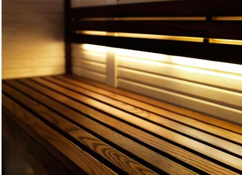 Prezentare produs Sauna traditionala cu inserti de sticla TYLO - Poza 4