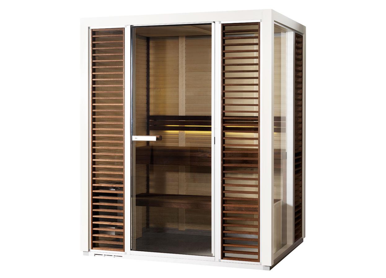 Sauna traditionala cu inserti de sticla TYLO - Poza 7