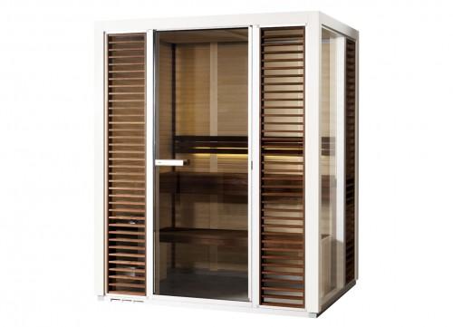 Prezentare produs Sauna traditionala cu inserti de sticla TYLO - Poza 7