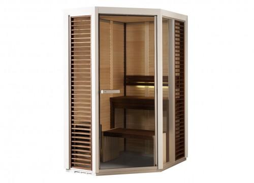 Prezentare produs Sauna traditionala cu inserti de sticla TYLO - Poza 8