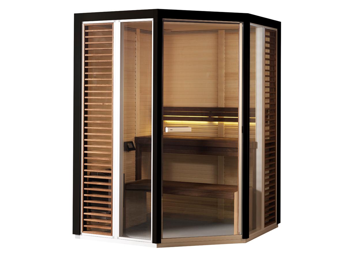 Sauna traditionala cu inserti de sticla TYLO - Poza 9